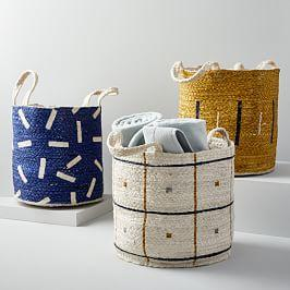 Jute Handled Baskets