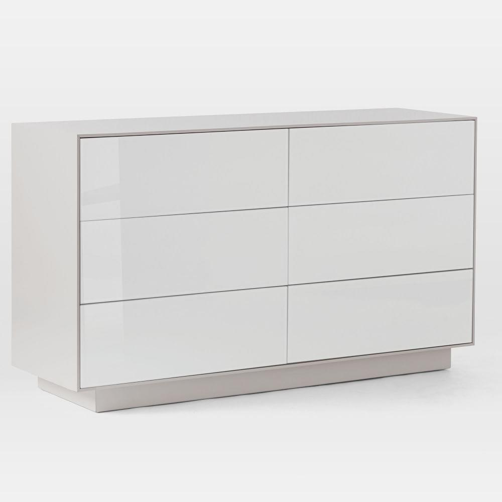 Emilia 6-Drawer Chest - Haze