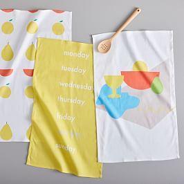 Fun Fruit Tea Towels (Set of 3)
