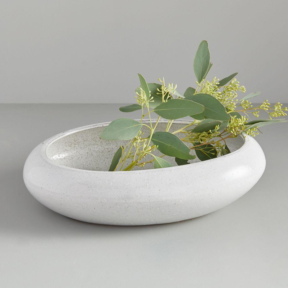Linked Ceramic Centrepiece Vase