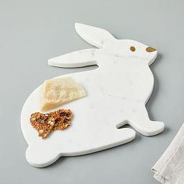 Marble Bunny Cheese Board