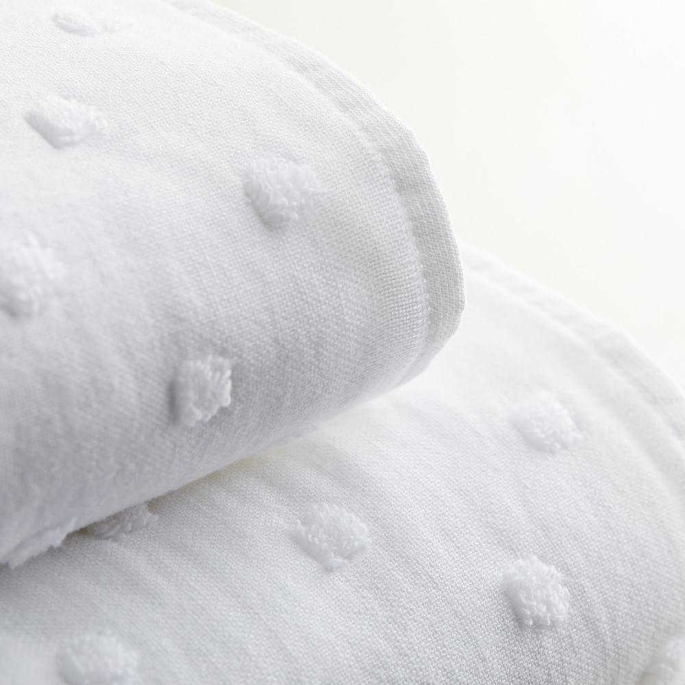 Organic Gauze Candlewick Towels