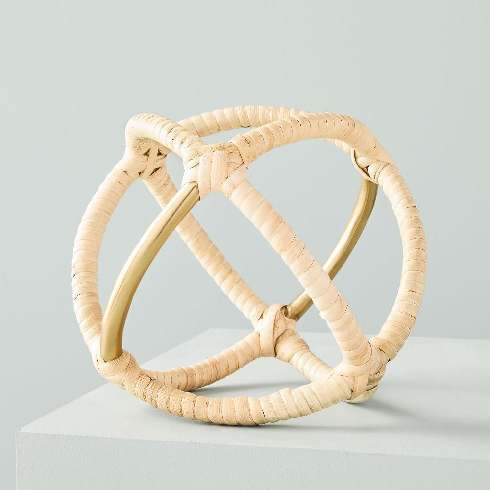 Rattan Wrapped Object