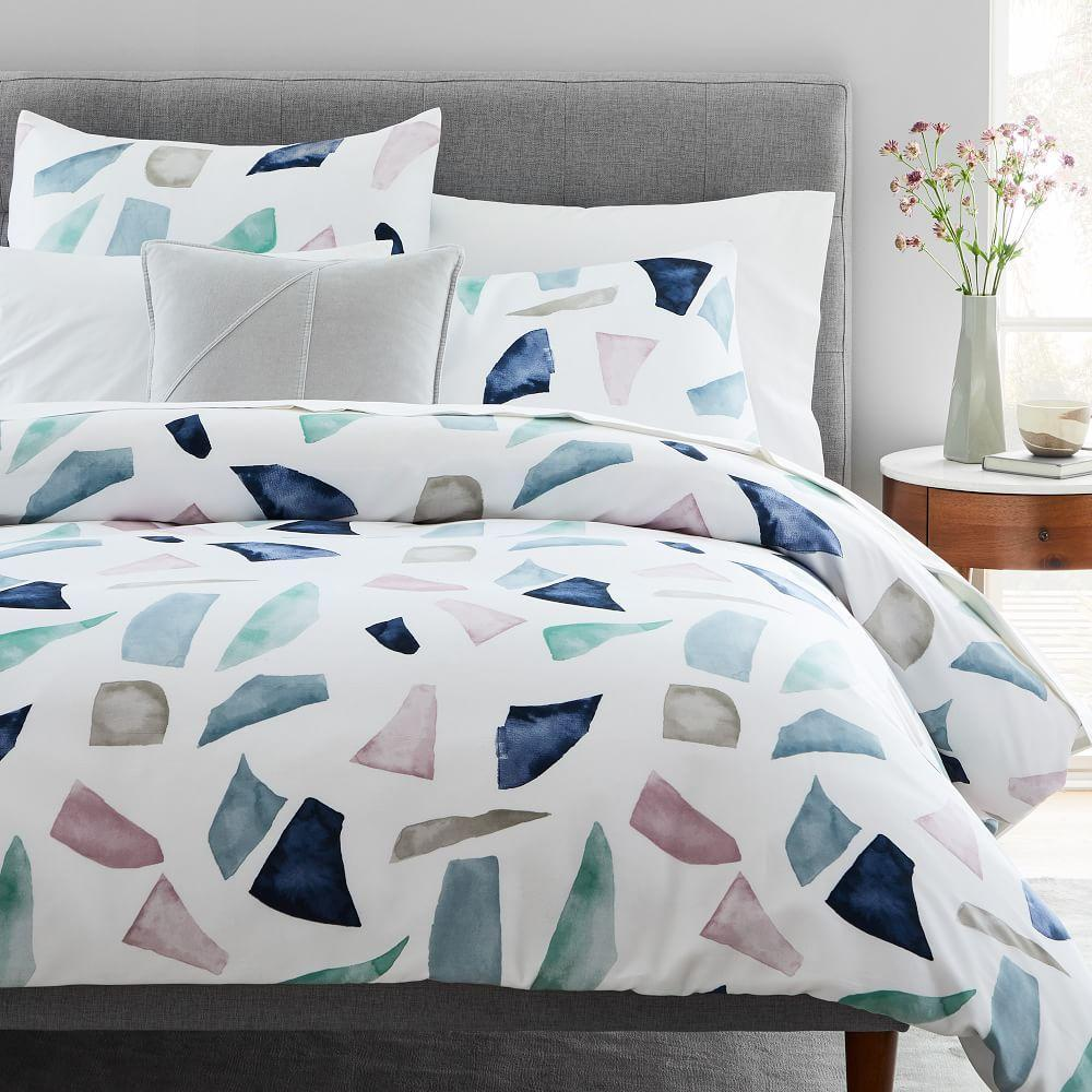 TENCEL™ Terrazzo Duvet Cover + Pillowcases