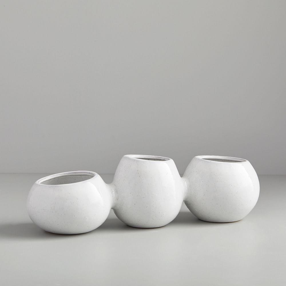 Linked Ceramic Vases
