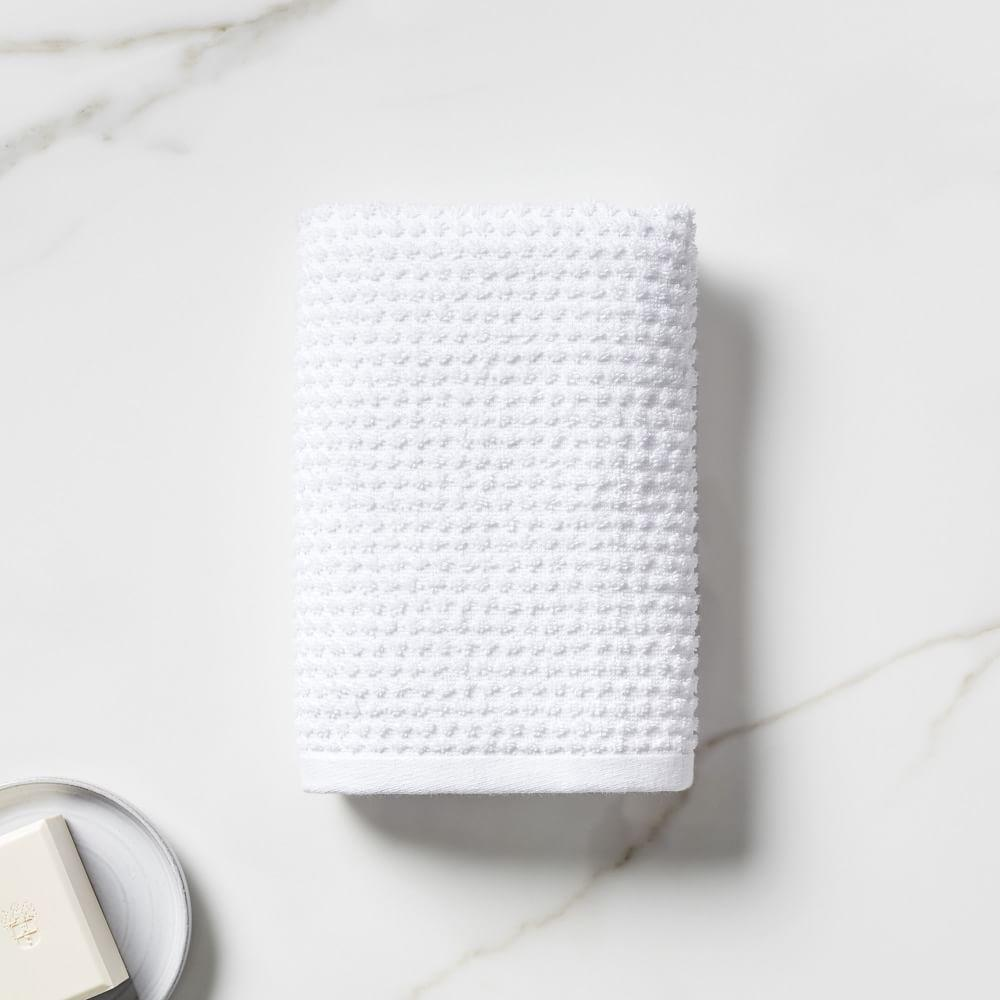 Organic Mini Dot Textured Towels