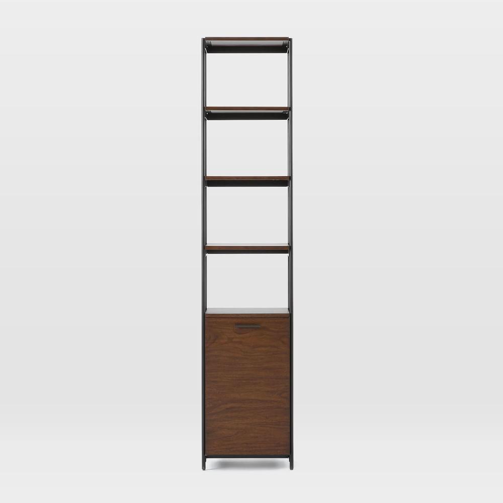 Foundry Narrow Bookcase - Dark Walnut
