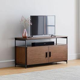 Foundry Media Console (124 cm) - Dark Walnut