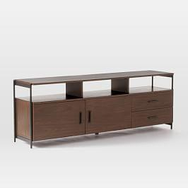 Foundry Media Console (175 cm) - Dark Walnut