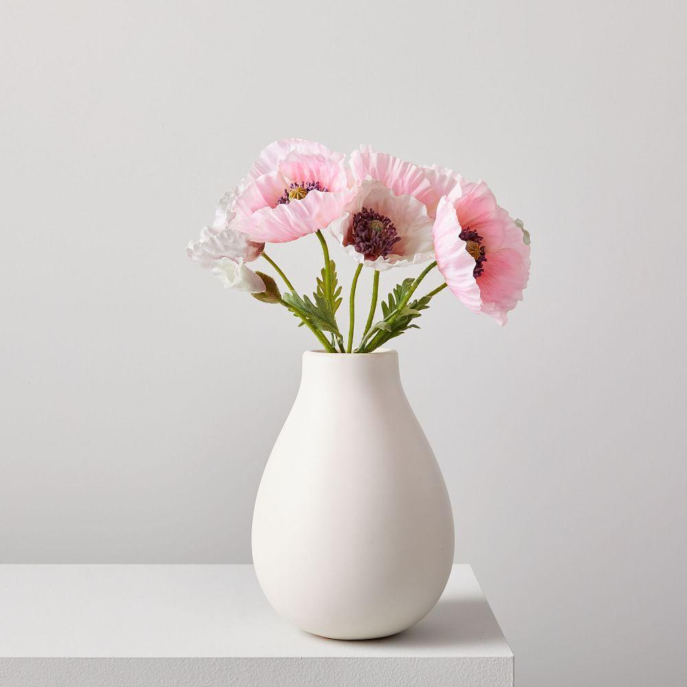 Faux Botanicals - Poppies Bouquet
