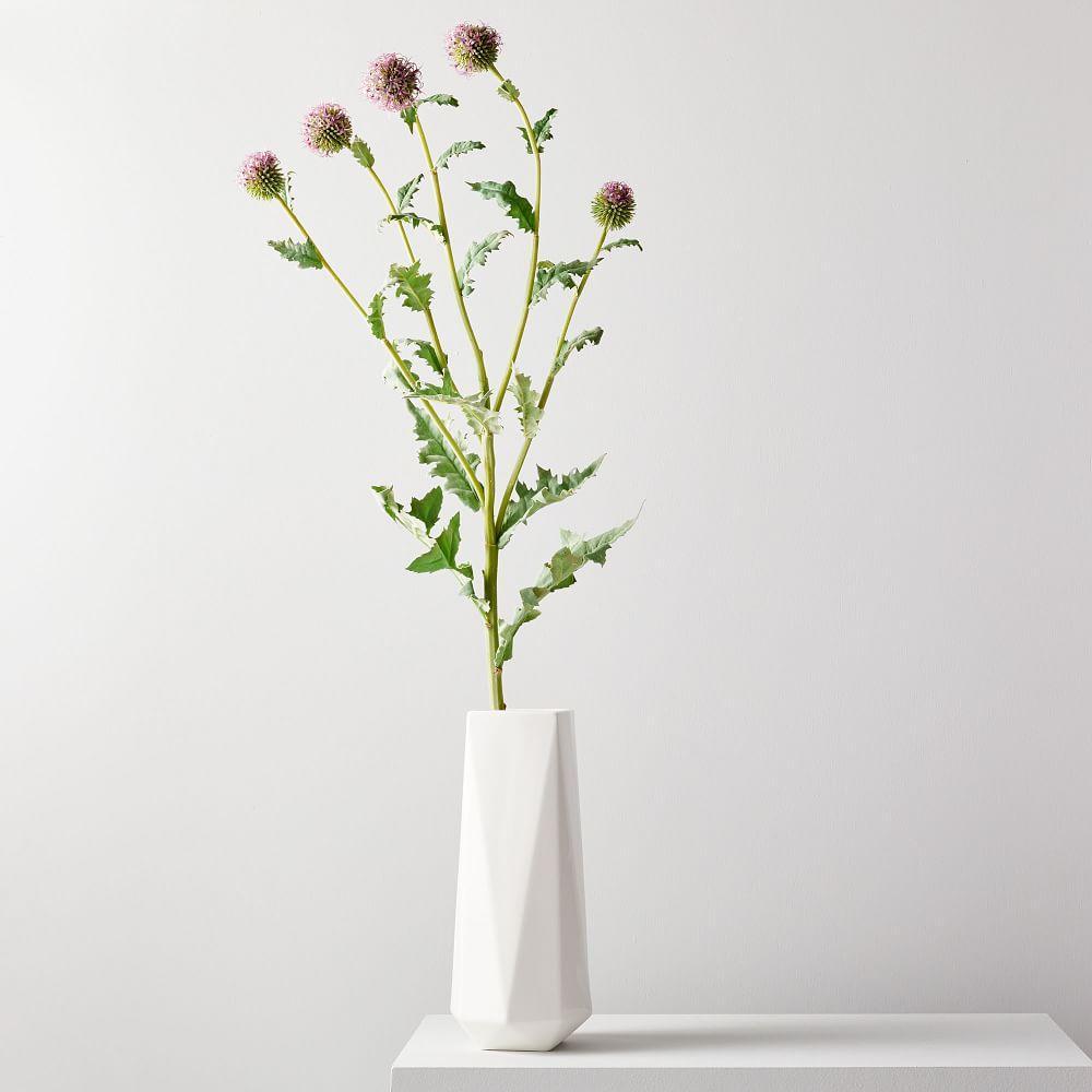 Faux Botanicals - Silver Thistle