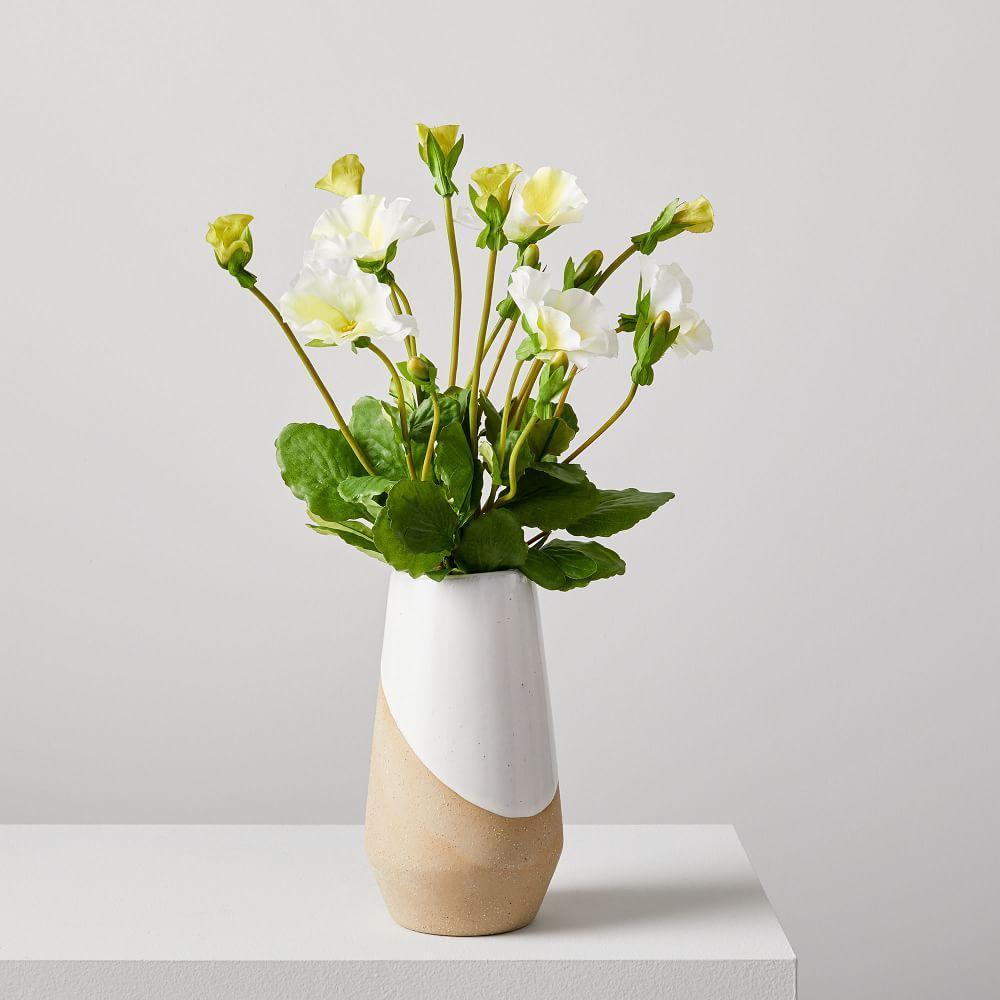 Faux Botanicals - Pansy Bouquet