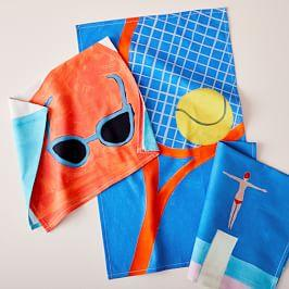 Summer Fun Tea Towels (Set of 3)
