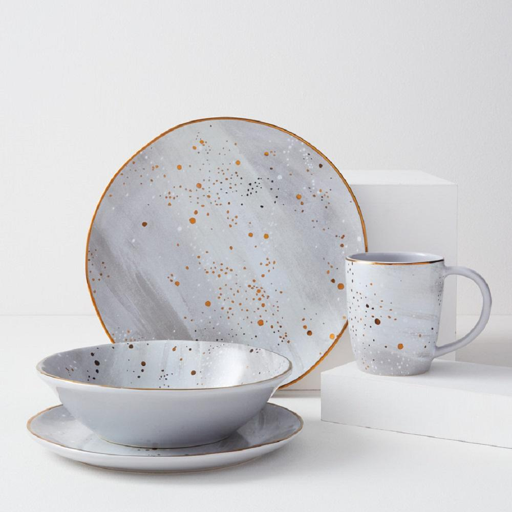 Constellation Dinnerware - Grey