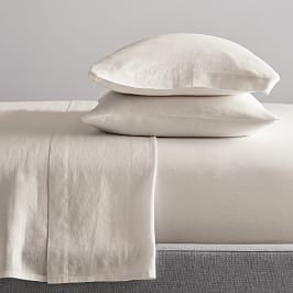 Belgian Flax Linen Sheets - Natural Flax