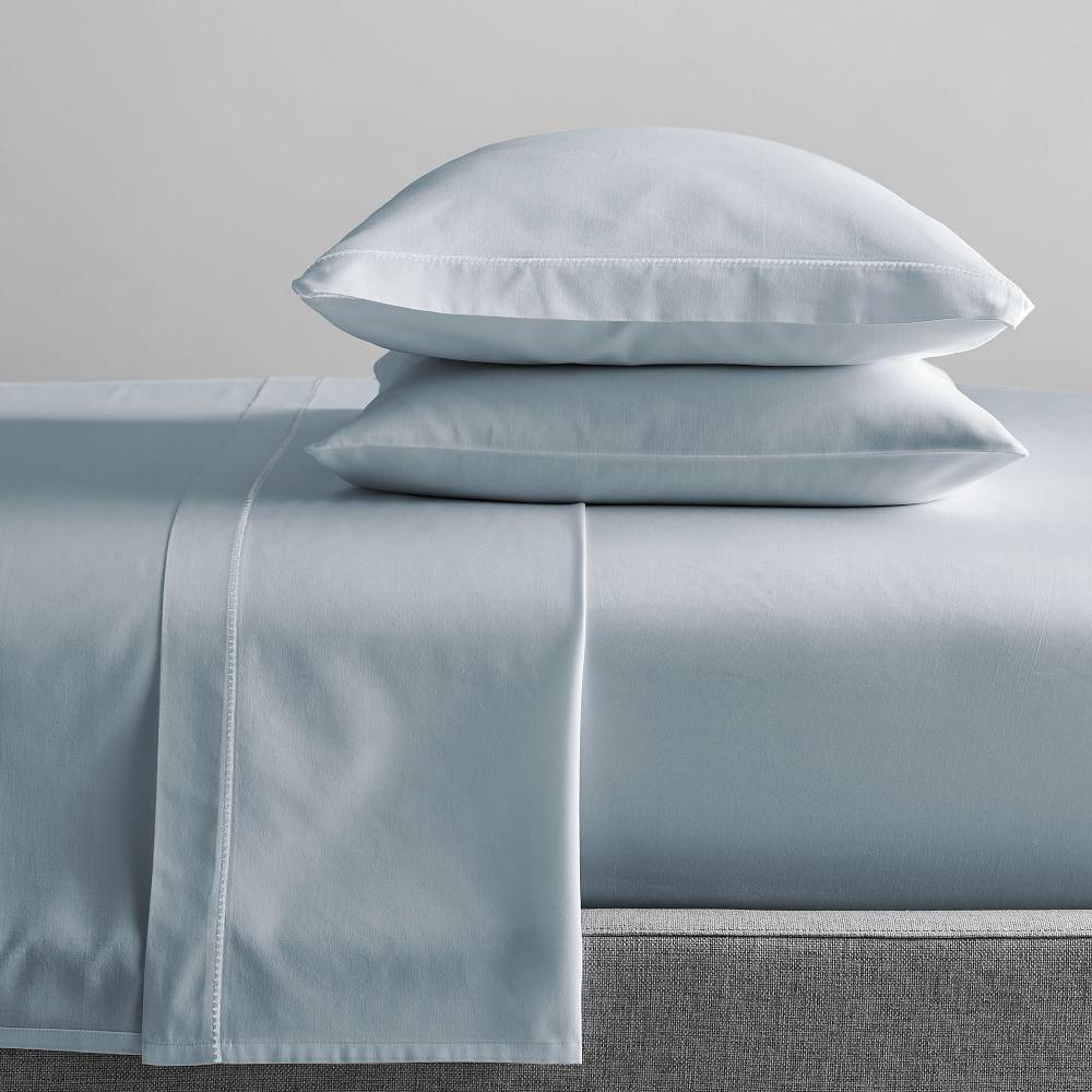 400-Thread-Count Organic Sateen Sheets
