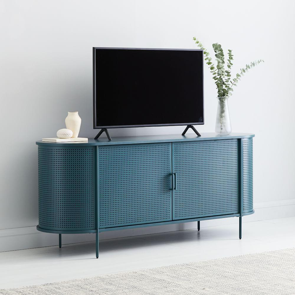 Perforated Media Console