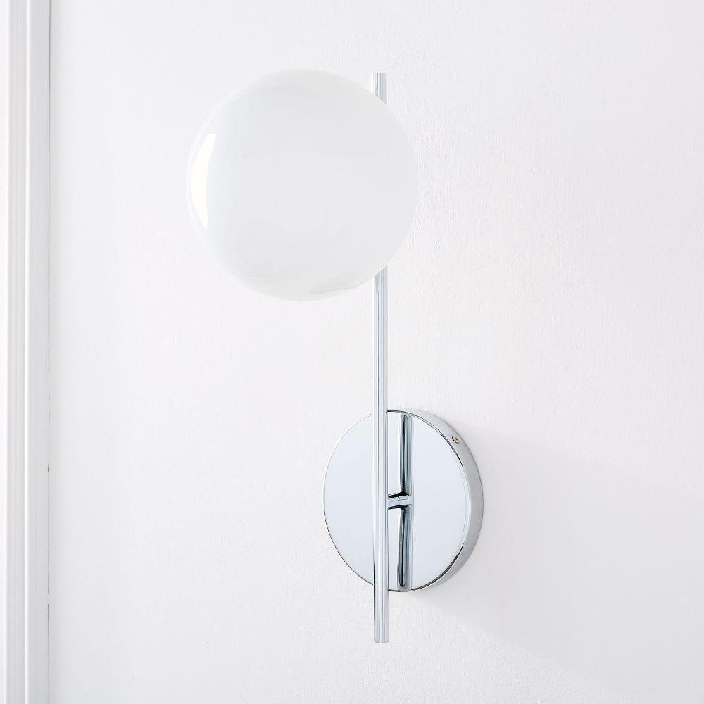 Sphere + Stem Sconce - Single