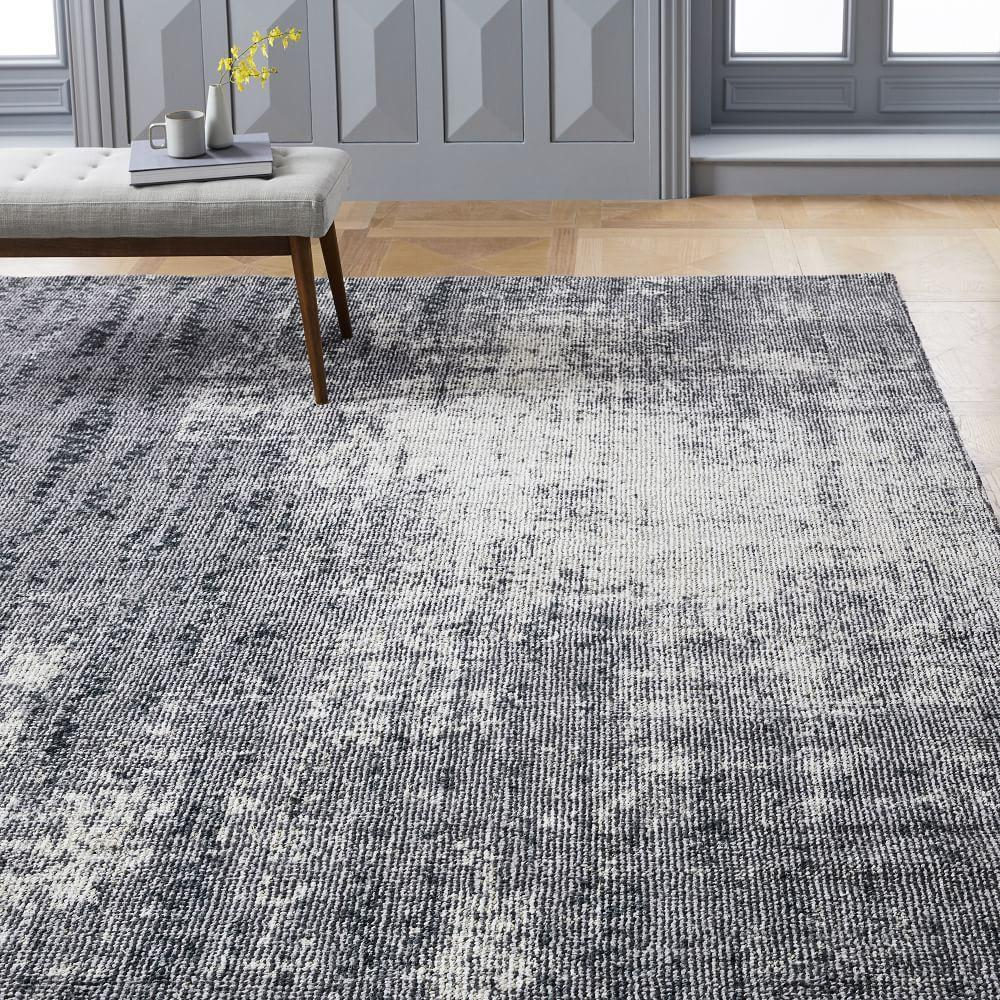 Distressed Foliage Rug