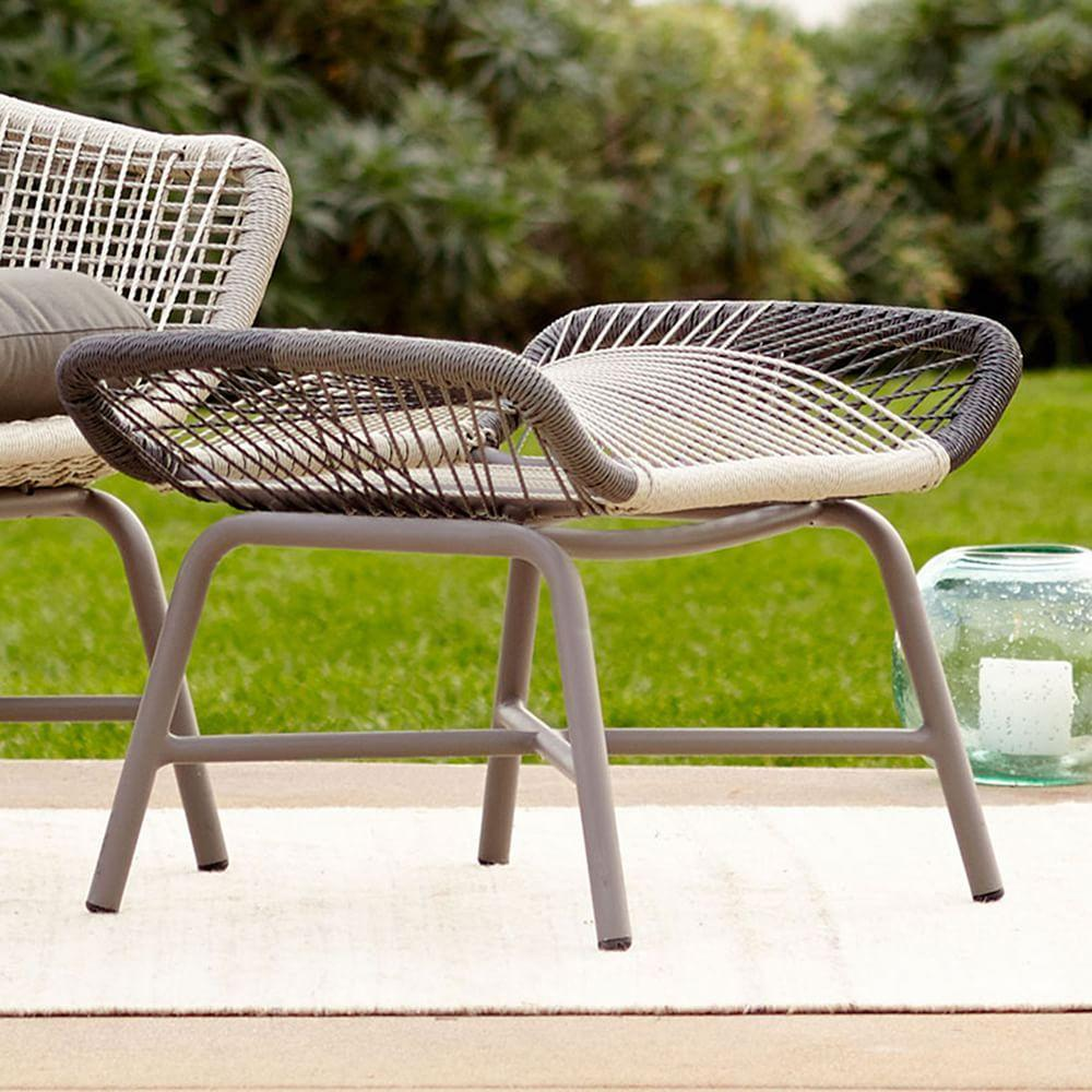 Huron Garden Footstool