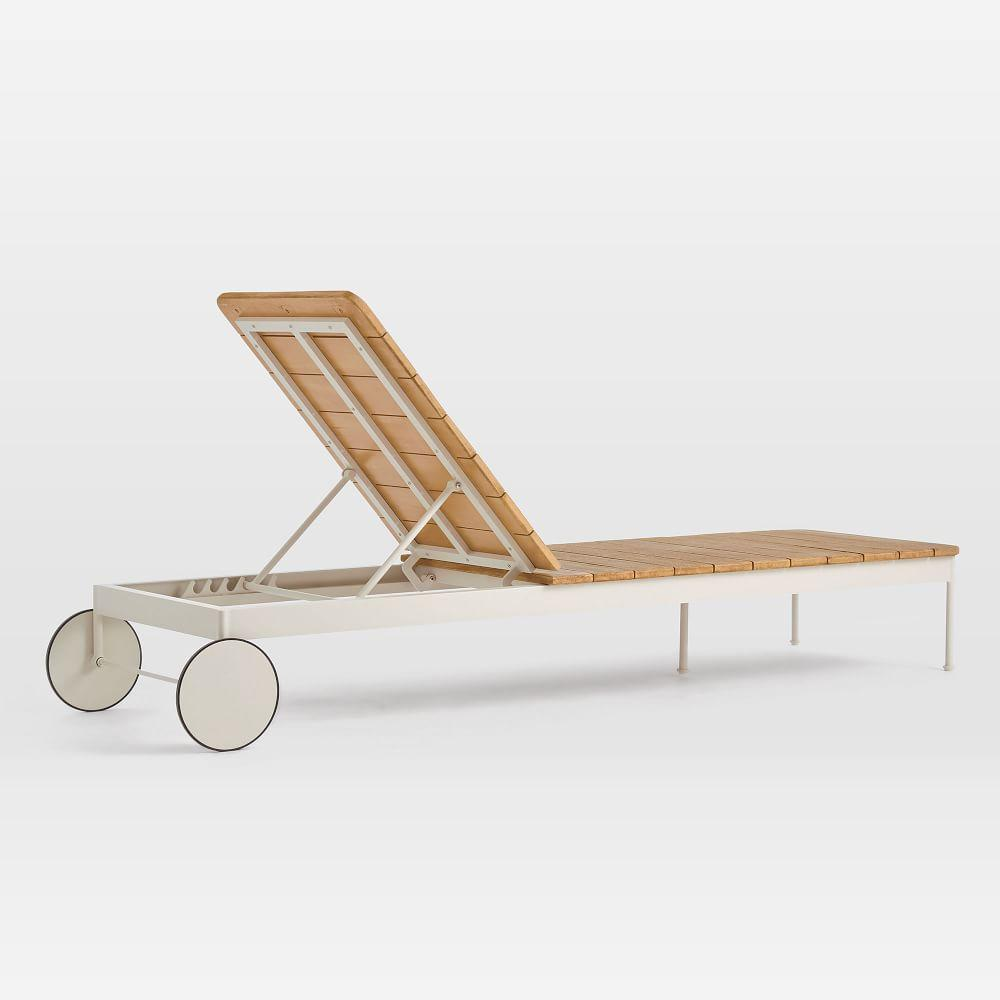 Halden Garden Chaise Lounger - Haze