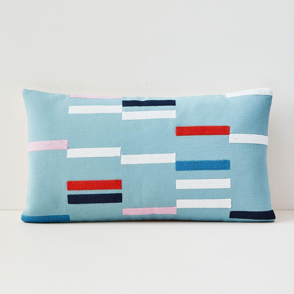 Margo Selby Staggered Stripe Cushion Cover