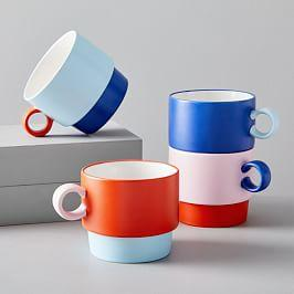 Colour Pop Stackable Mugs