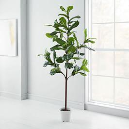Faux Fiddle Leaf Fig Tree - 213 cm