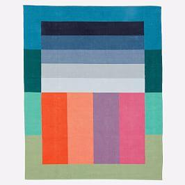 Margo Selby Stripe Block Rug