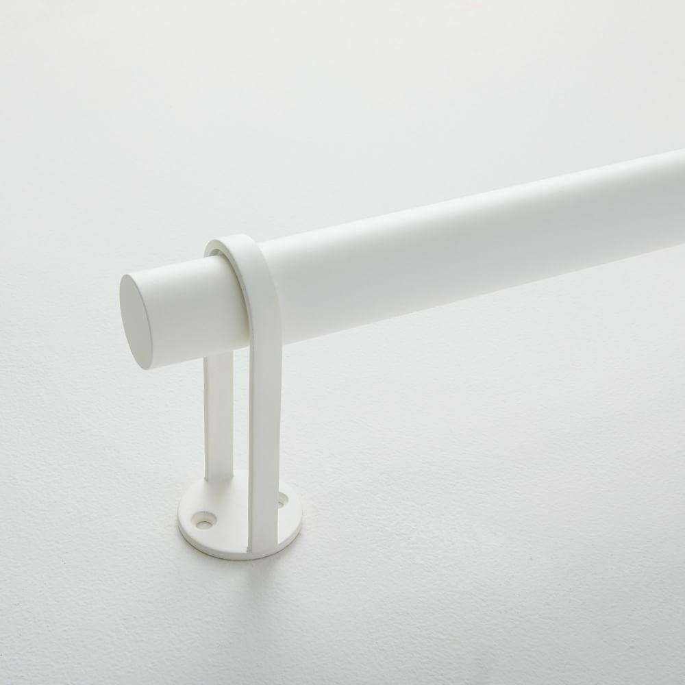 Simple Metal Rod - White