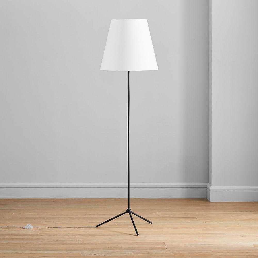 Tapered Shade Floor Lamp