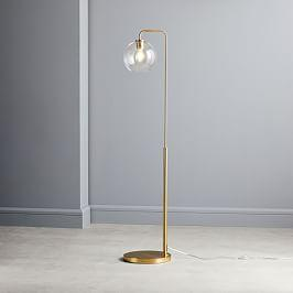 Build Your Own - Sculptural Glass Floor Lamp