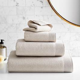 Organic Luxe Fibrosoft™ Towels - Oatmeal