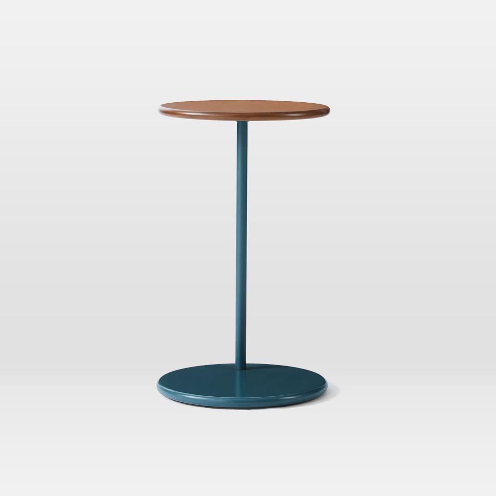 Ruby C-Side Table - Petrol Blue