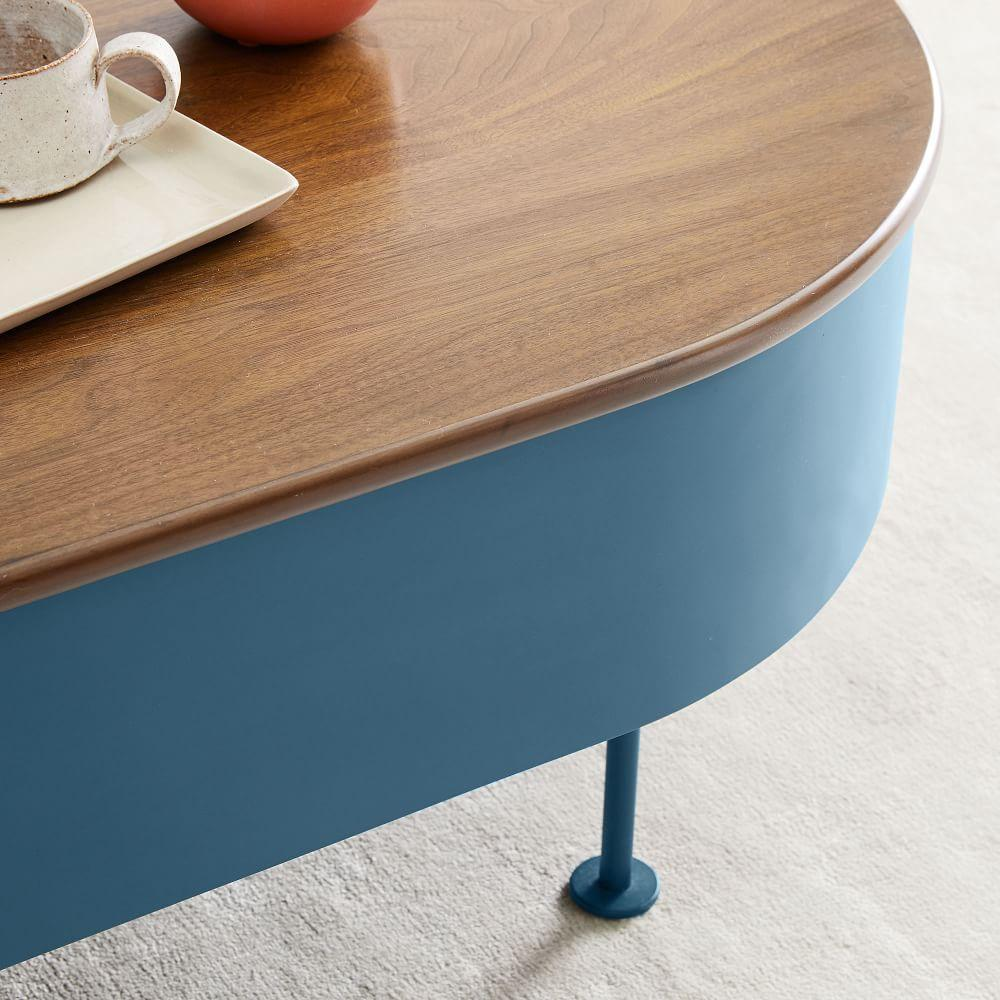 Ruby Storage Coffee Table - Petrol Blue