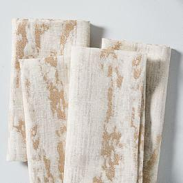 Bark Textured Jacquard Napkins (Set of 4)