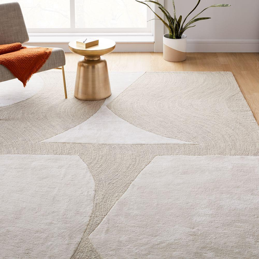 Bold Cut-out Rug