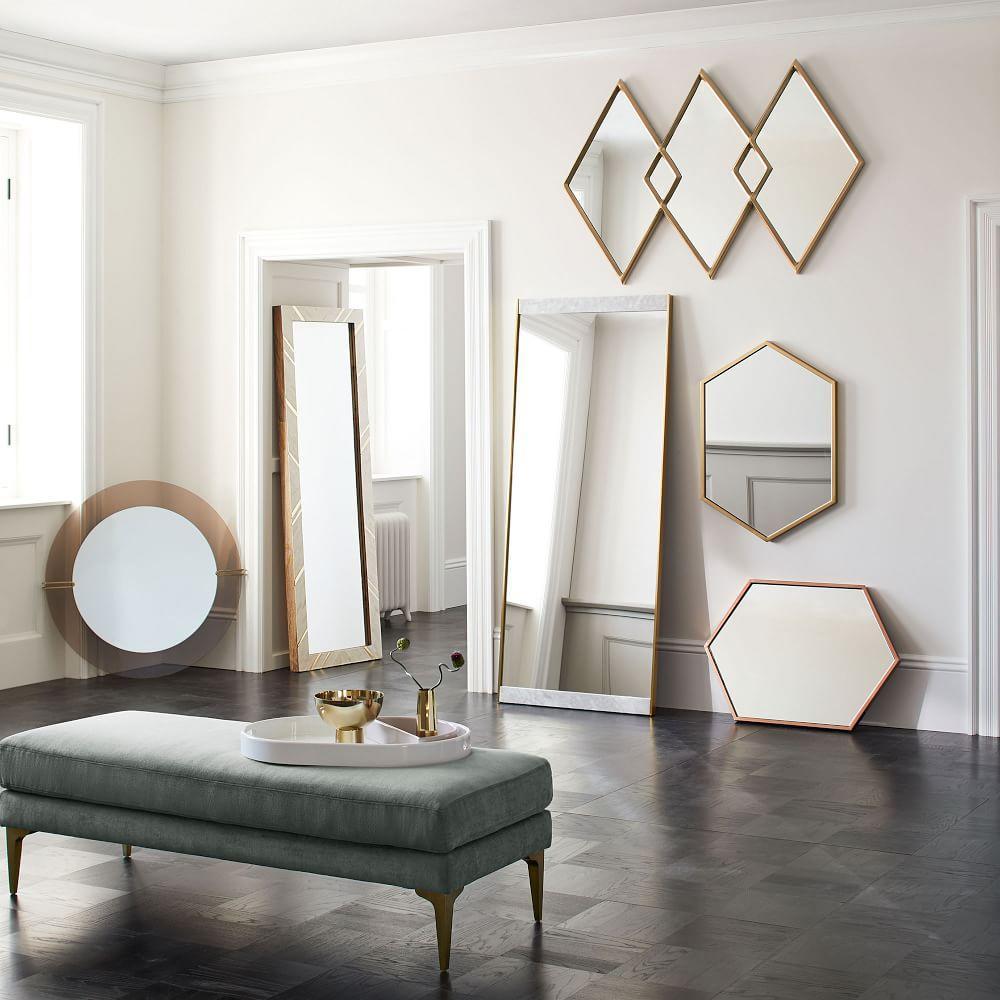 Dapper Glass Wall Mirror