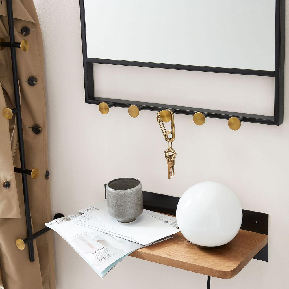 Floating Lines Wall Mirror