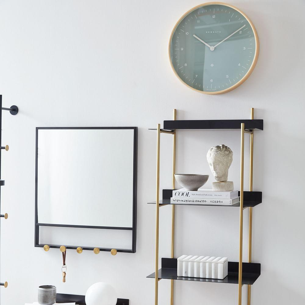 Floating Lines Wall Shelf - 4-Tiered