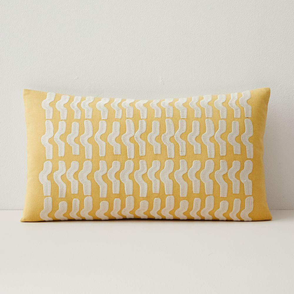 Floating Waves Lumbar Cushion Cover