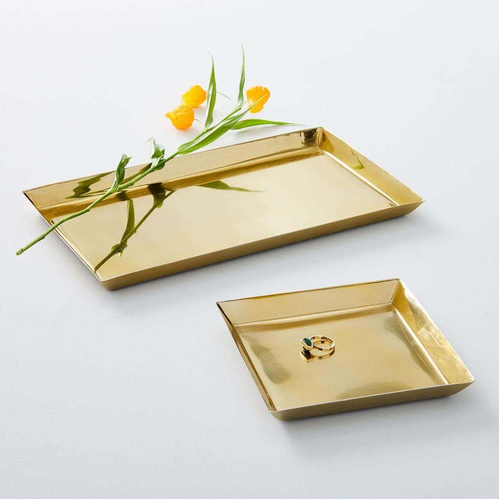 Foundations Brass Trays