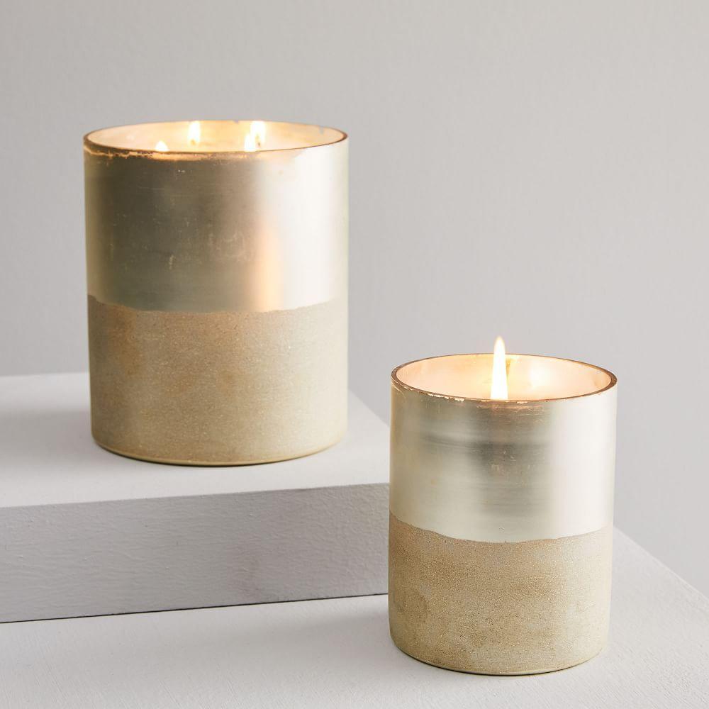 Half Shimmer Candles