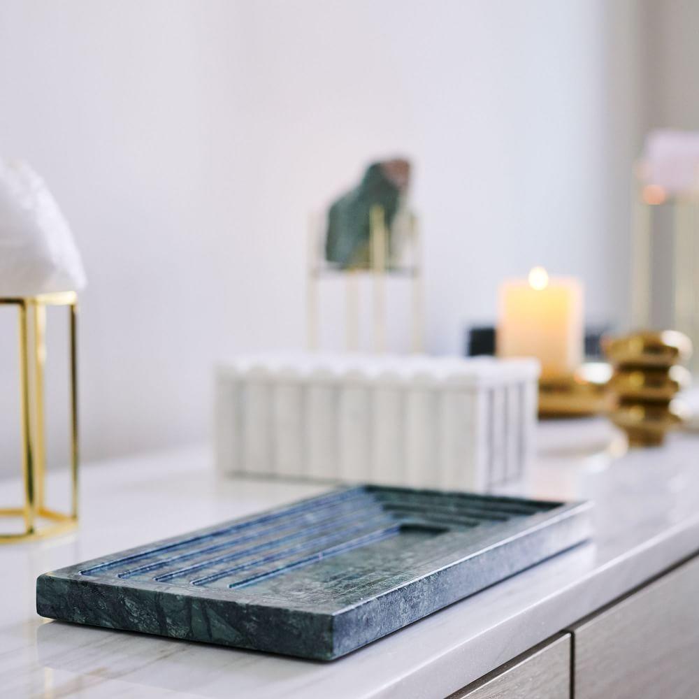 Marble Vanity Trays West Elm Uk