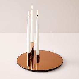 Marcel Mirror Candleholder