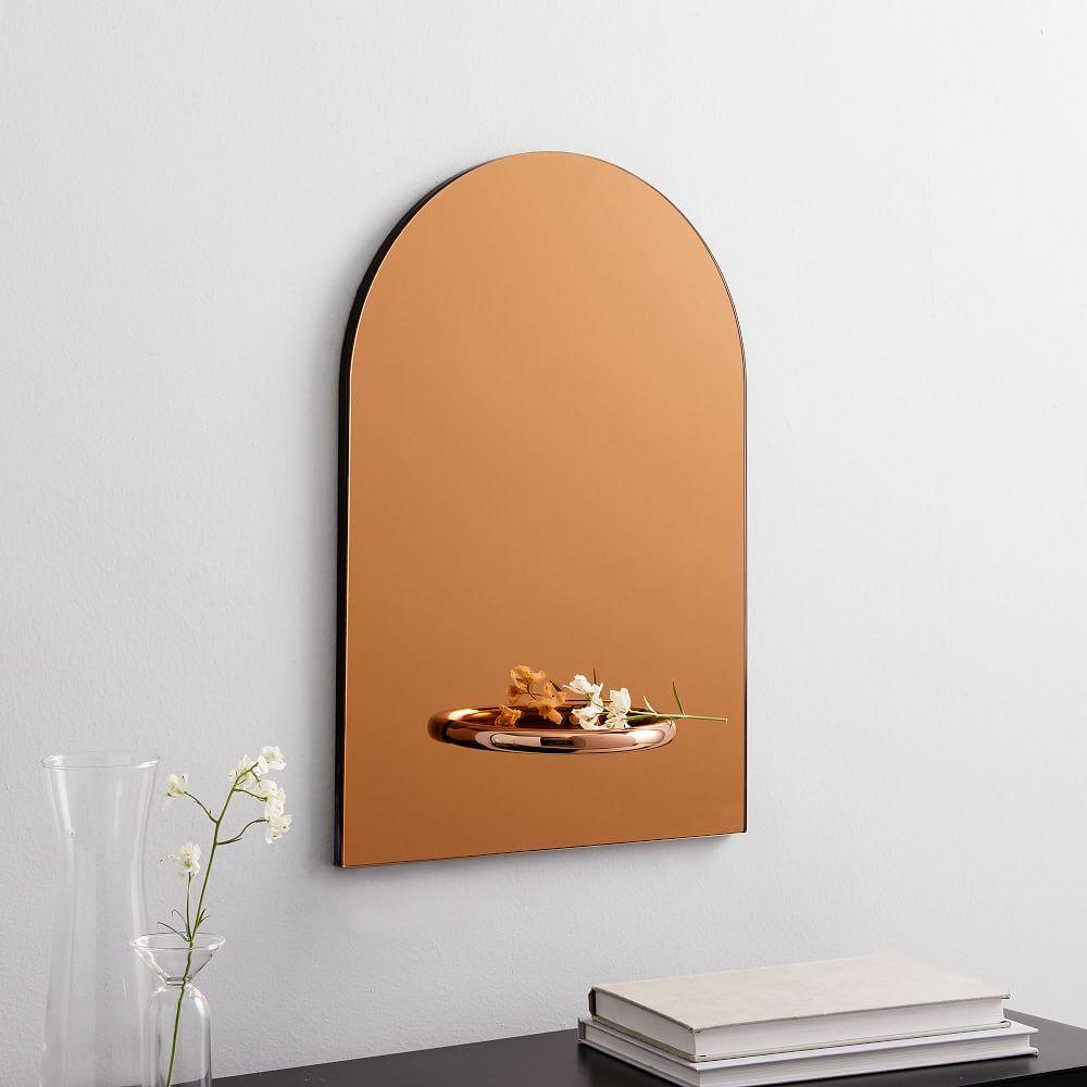 Marcel Shelf Wall Mirror
