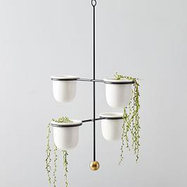 Mobile Hanging Planters