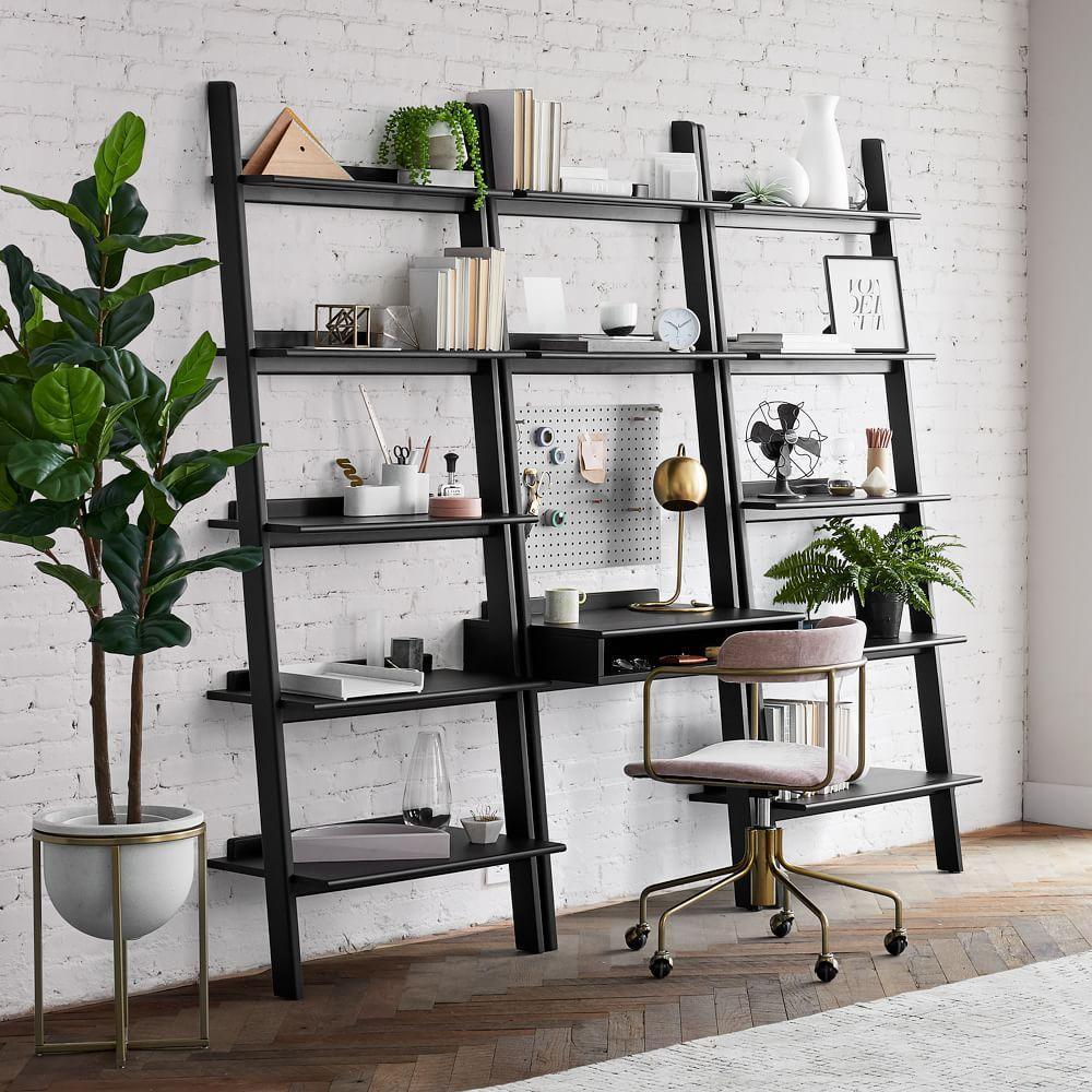 Modern Leaning Wall Desk