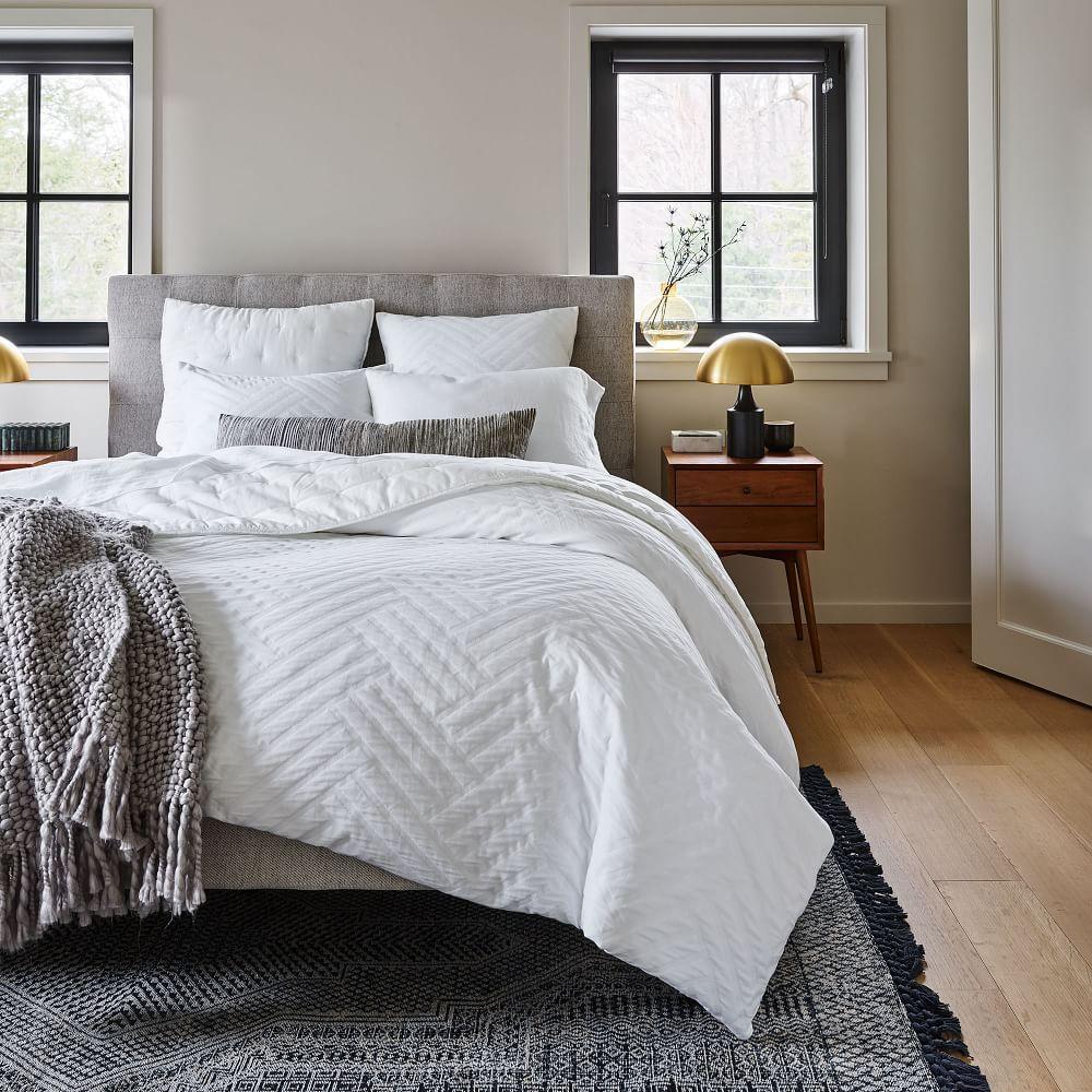 Parquet Texture Quilt Cover + Pillowcases