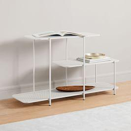 Perforated Metal Console
